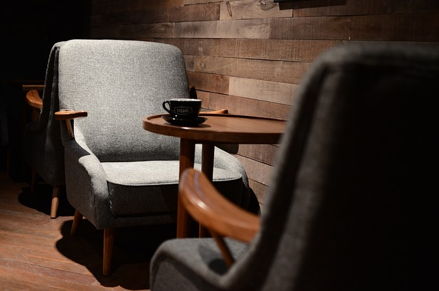 cafe indretning